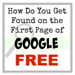 How Do You Get On the First Page of Google FOR FREE! Apply these 2 Techniques THAT WORK!