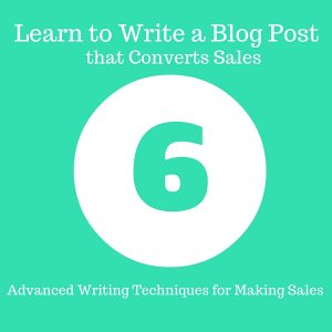 Learn to Write a Blog Post that Converts Sales