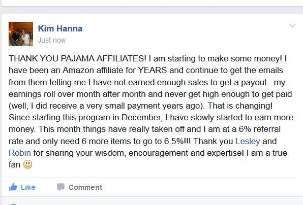 affiliate marketing testimonial