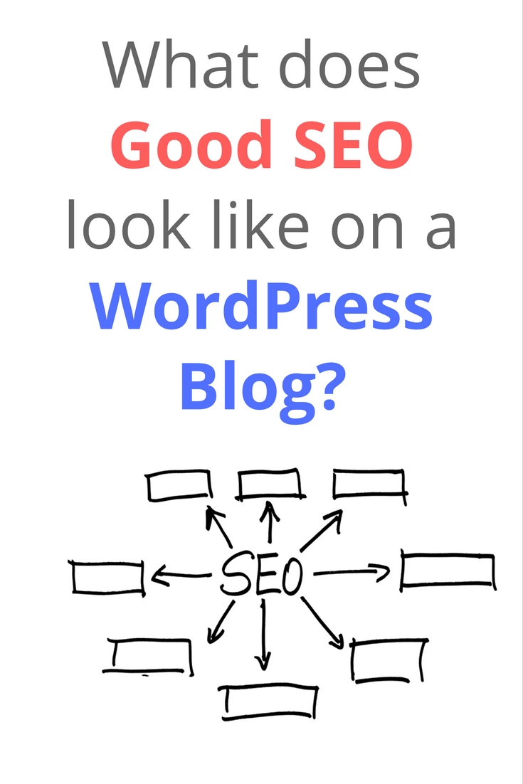 Good SEO on a WordPress Blog