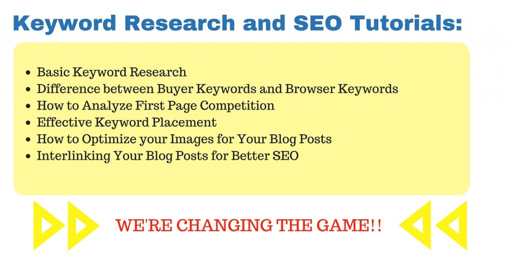 Beginners Keyword Research and SEO Course Tutorials Free