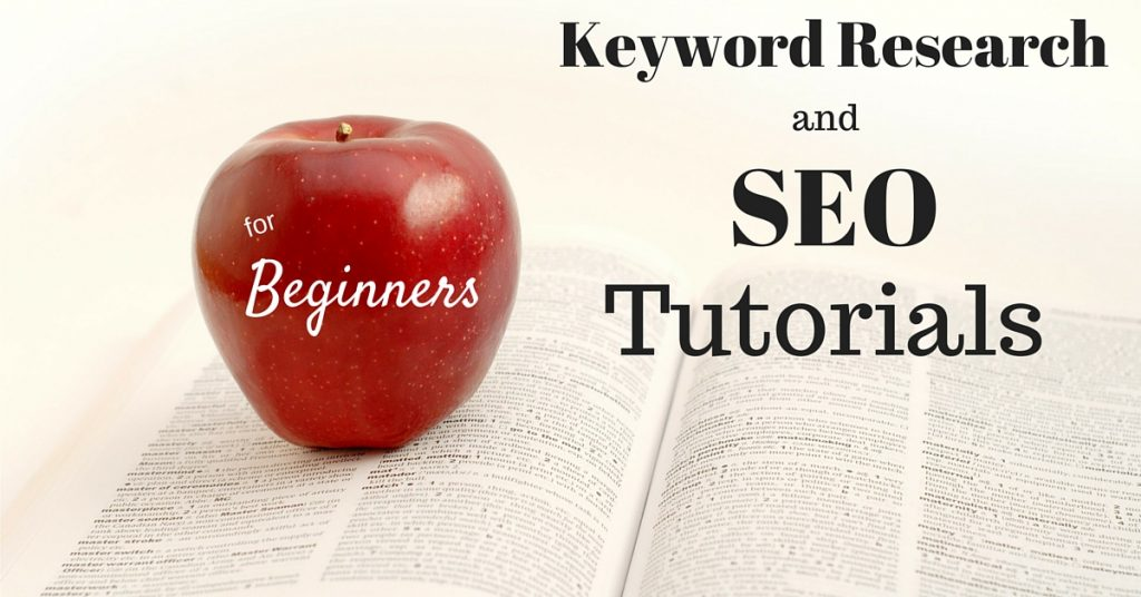 Keyword Research and SEO Tutorials for Beginners Header