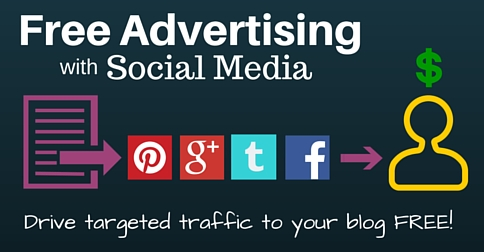 Free Advertising with Social Media for Your Blogs