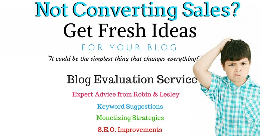 blog evaluation services