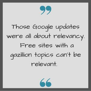 Google Updates are all about relevancy