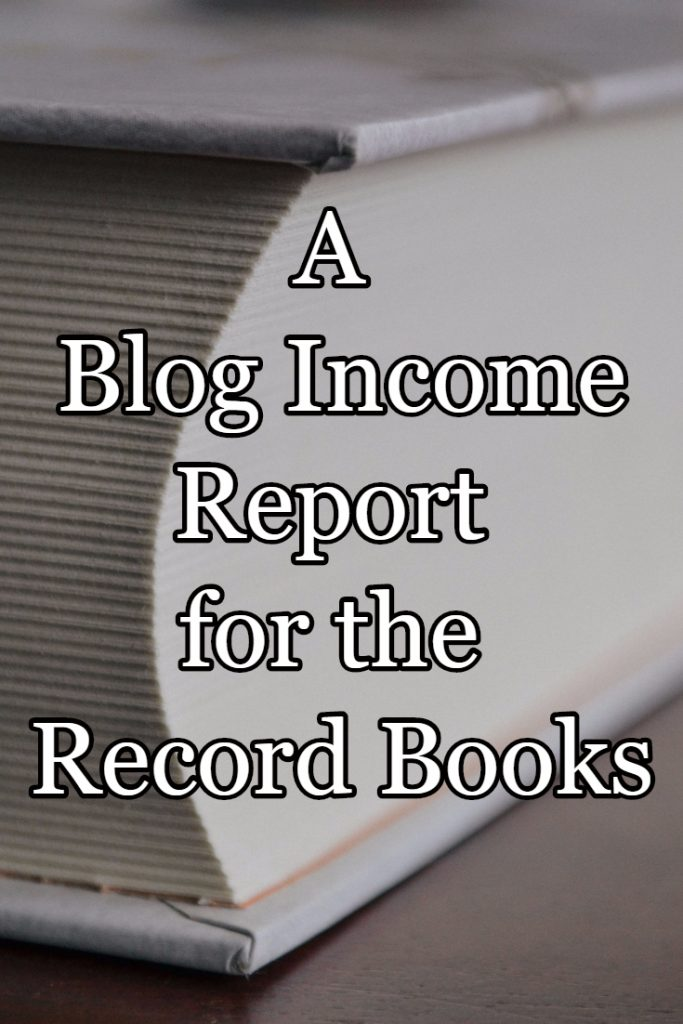 A 2016 Blog Income Report for the Record Books!