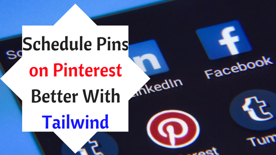 schedule with Pinterest better