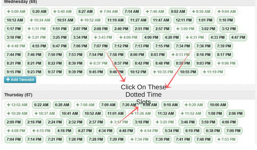 schedule pins pinterest